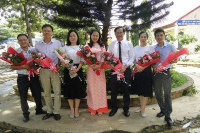 Trường THCS Nguyễn Huệ: Lễ Tổng kết năm học 2019-2020 và tri ân học sinh khối 9 niên khóa 2016-2020ra trường