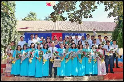 Trường THCS Nguyễn Huệ-Tọa đàm kỷ niệm 38 năm ngày hiến chương các nhà giáo việt nam 20.11
