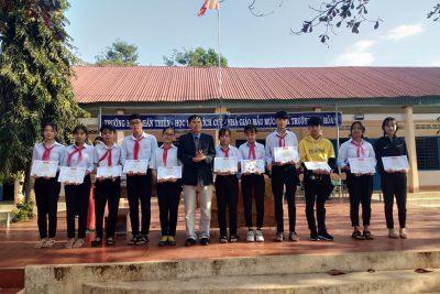 Trường THCS Nguyễn Huệ sơ kết kỳ I năm học 2020-2021