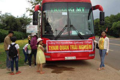 Trường THCS Nguyễn Huệ với Hoạt động dã ngoại