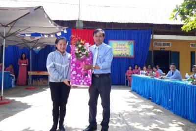 Trường THCS Nguyễn Huệ tổng kết năm học 2017-2018.