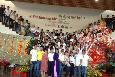 Liên đội Nguyễn Huệ với trải nghiệm tham quan nhà đày Buôn Ma Thuột, viện bảo tàng và thăm viếng nghĩa trang liệt sỹ tỉnh Đăk Lăk