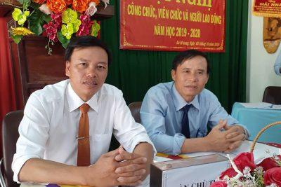 Trường THCS Nguyễn Huệ -Hội nghị công chức, viên chức năm học 2019-2020