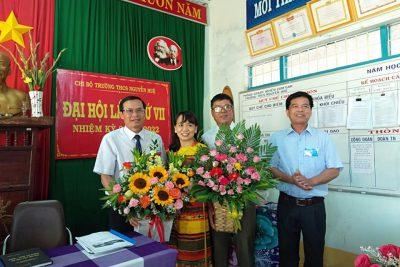 Chi bộ trường THCS Nguyễn Huệ đại hội lần thứ VII-Nhiệm kỳ 2020-2022