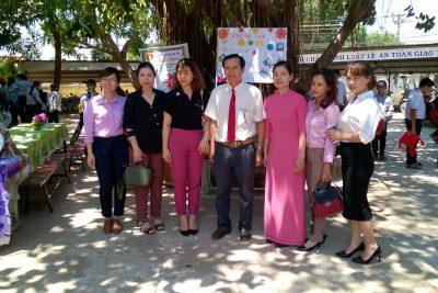 """Trường THCS Nguyễn Huệ với """"ngày hội đọc sách"""""""