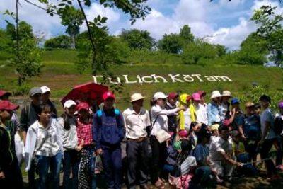 Liên đội trường THCS Nguyễn Huệ với ngày vui Dã Ngoại