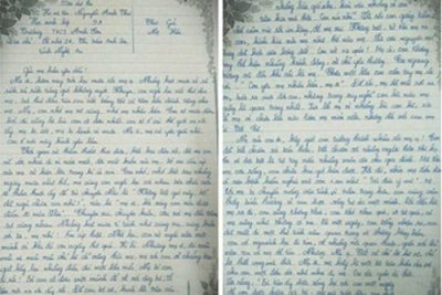 Những dòng thư gửi mẹ của cô nữ sinh lớp 9 đã khiến hàng trăm người rơi nước mắt…